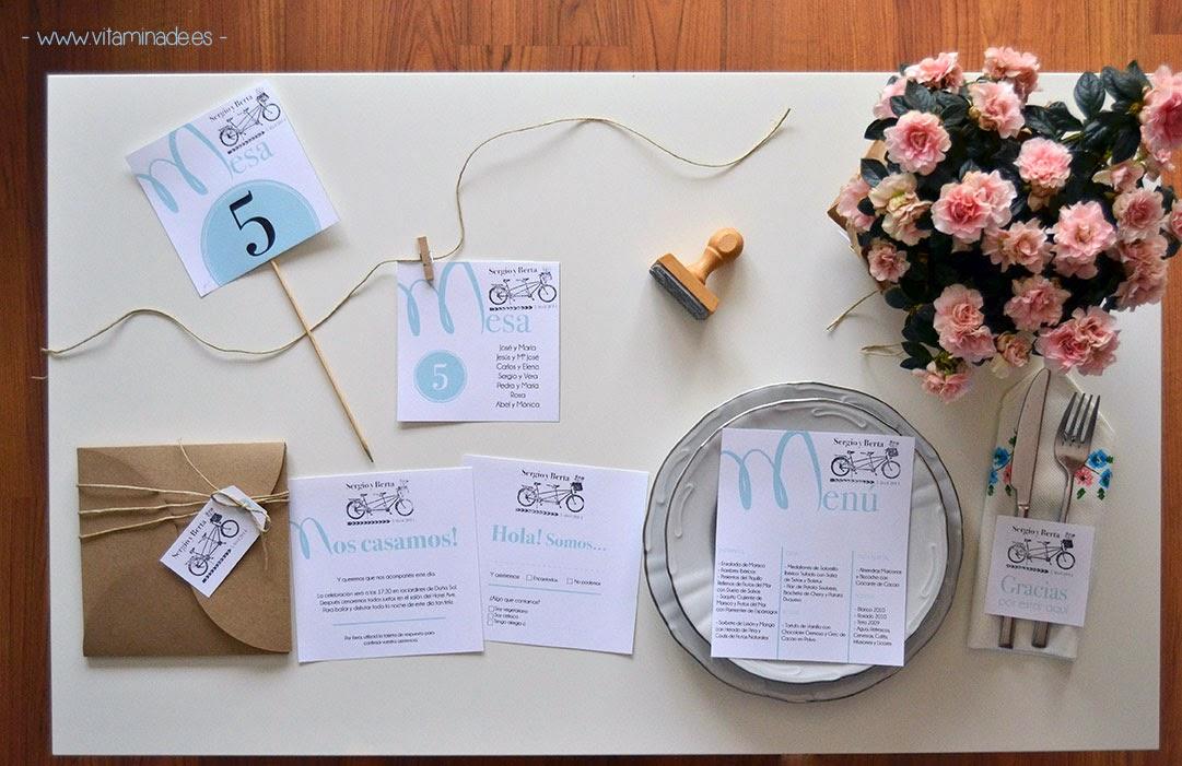 papeleria boda sello economica