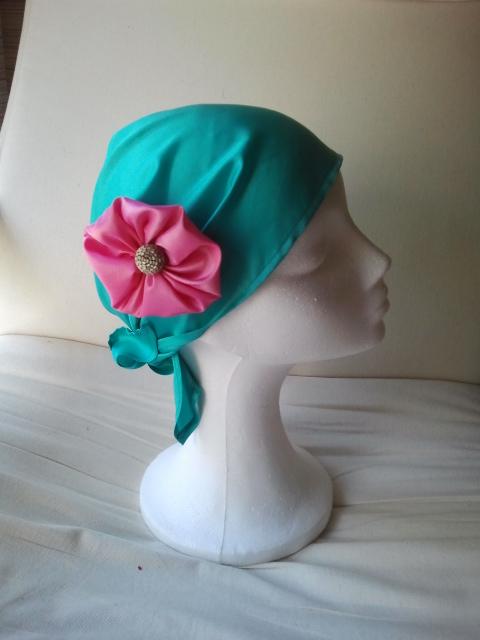 pañuelo, turbante, turbantes baratos, verde, rosa, pañuelos para el pelo