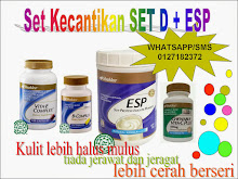 SET KECANTIKAN SET D + ESP READY STOCK!!