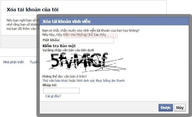 Cách xóa tài khoản Facebook vĩnh viễn - Delete acc FB