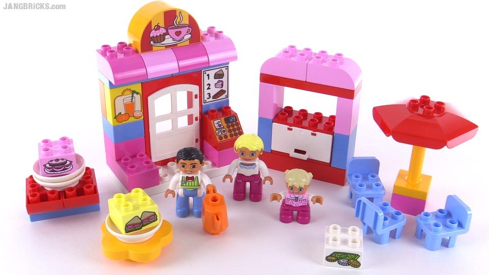 Lego Duplo 2015 Cafe Review Set 10587