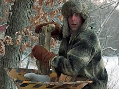 leg in woodchipper Fargo