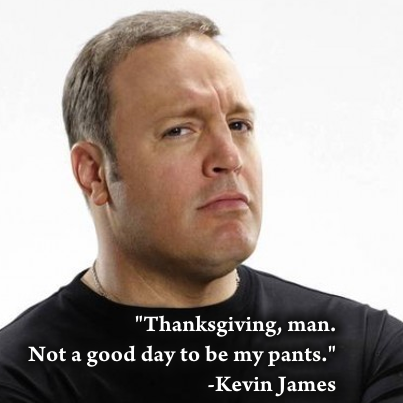 Kevin James Thanksgiving