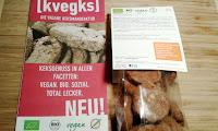 kvegks - süße, pikante & rohe Kekse, bio & vegan
