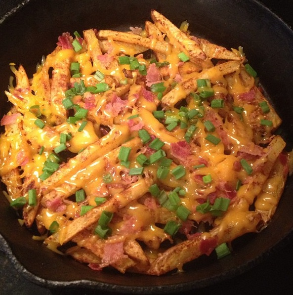 Wife Me Up: Skinny Texas Cheese Fries