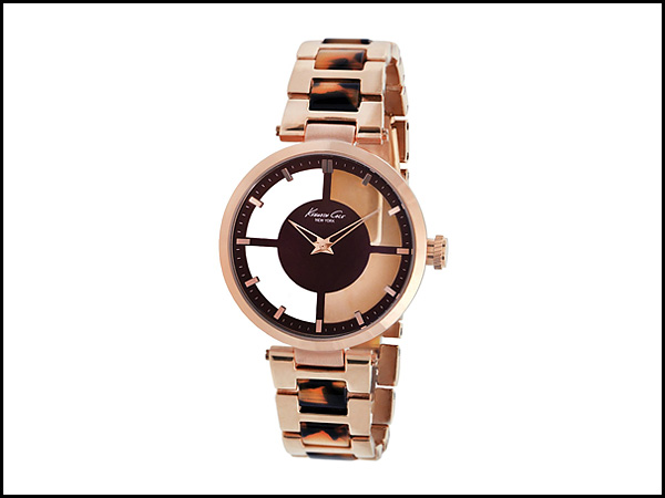 Kenneth-Cole-New-York-Women's-Transparent-Dial-Watch