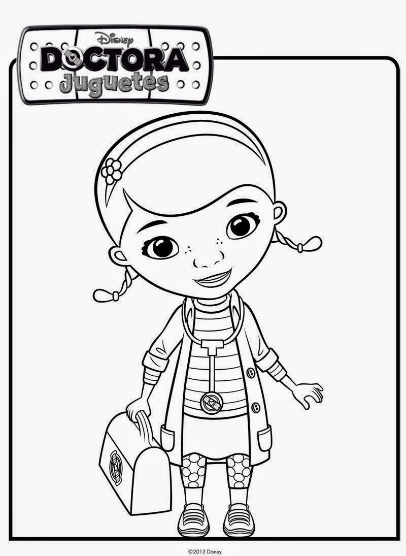 doc mcstuffins color pages laura williams