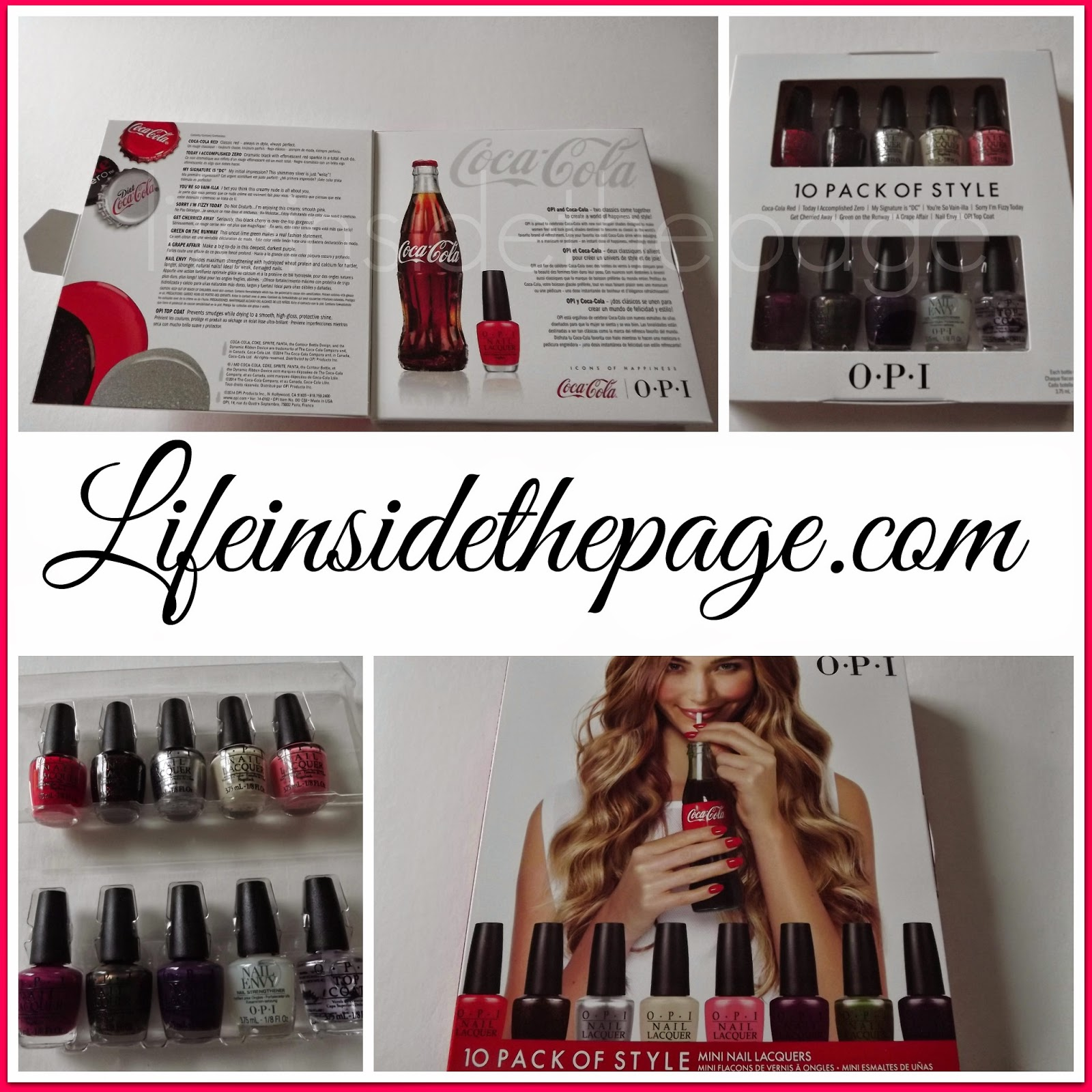 OPI | NEW Coca-Cola | Nail Polish