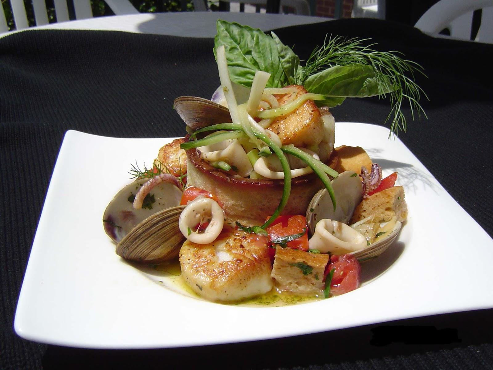 Горячих блюд из морепродуктов с фото