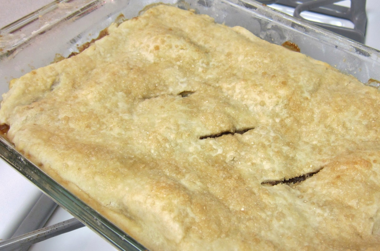 The Vegan Chronicle: Apple Cobbler