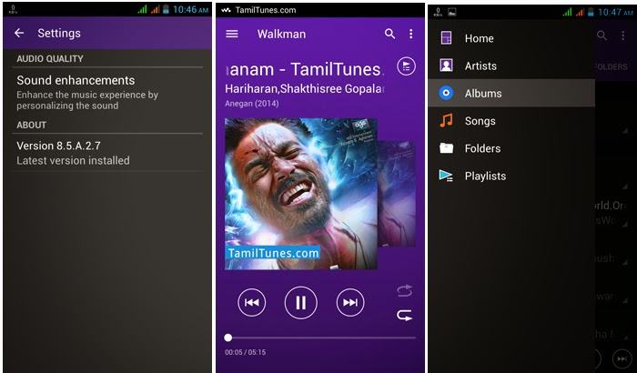 Sony Walkman apk (Android 5.0 Lollipop) 8.5.A.2.7 app