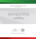 Orientaciones Ruta de Mejora 2014-2015