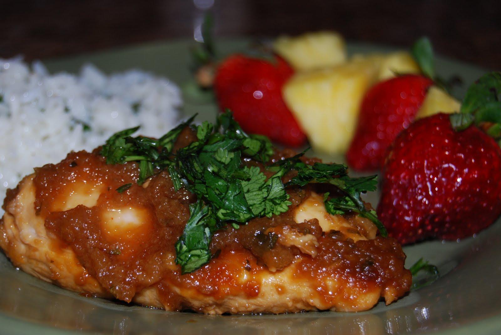 Hawaiian Chicken - Macaroni and Cheesecake