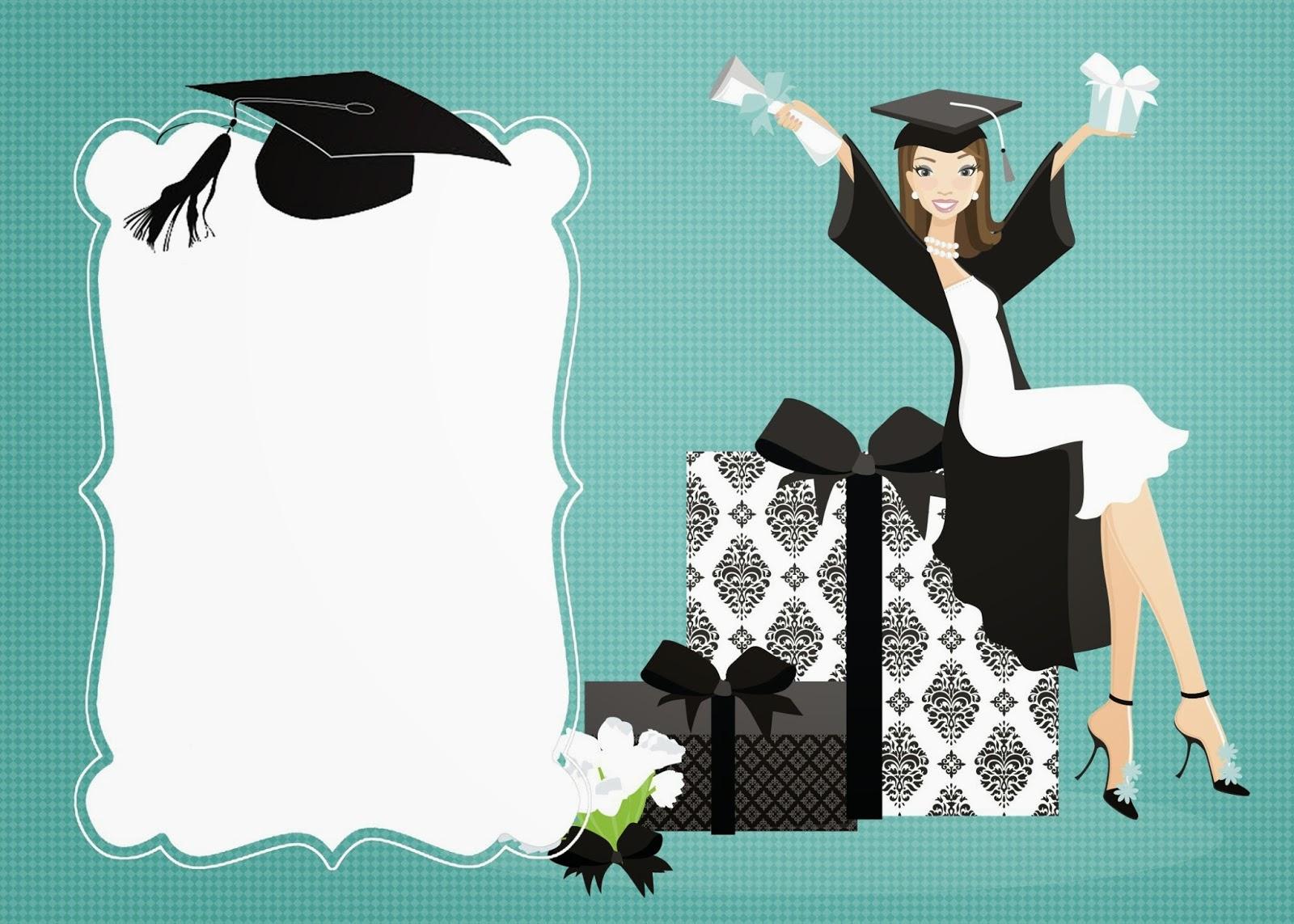 dibujos y plantillas para imprimir  tarjetas de graduacion