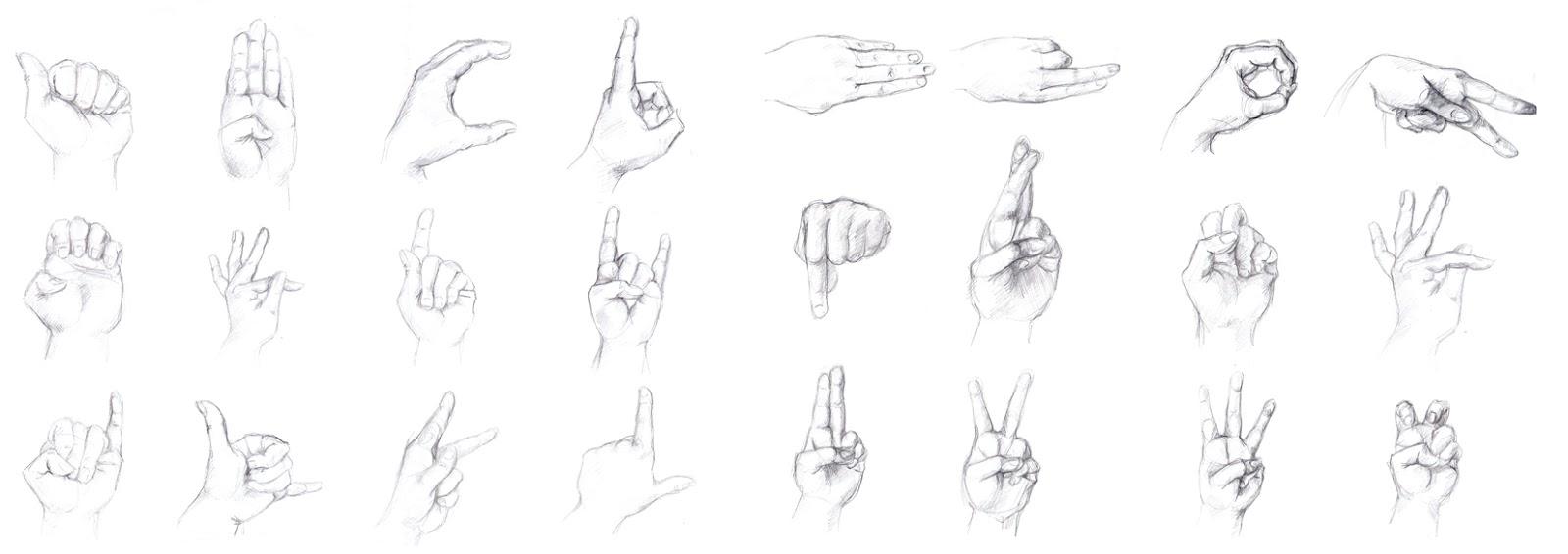 manu lafay dessin main langage des signes