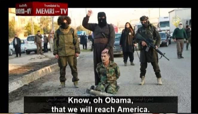 Ancaman ISIS, ISIS Ancam Obama