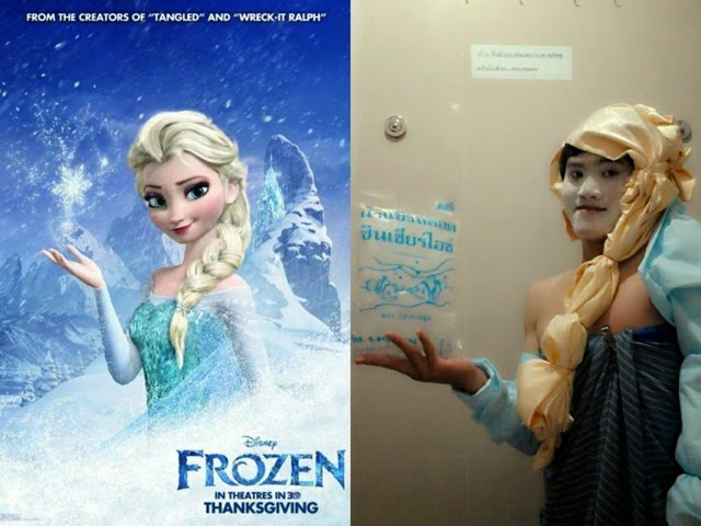 Lowcost Cosplay - Elsa