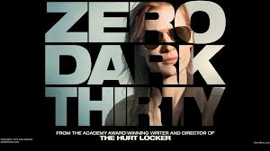 Zero Dark Thirty cinema poster