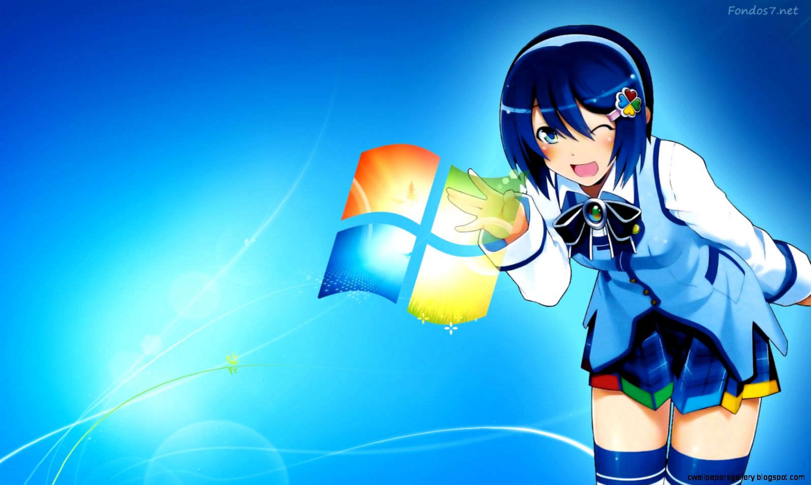 Windows 7 Anime Wallpapers HD 5483 Wallpaper  Cool