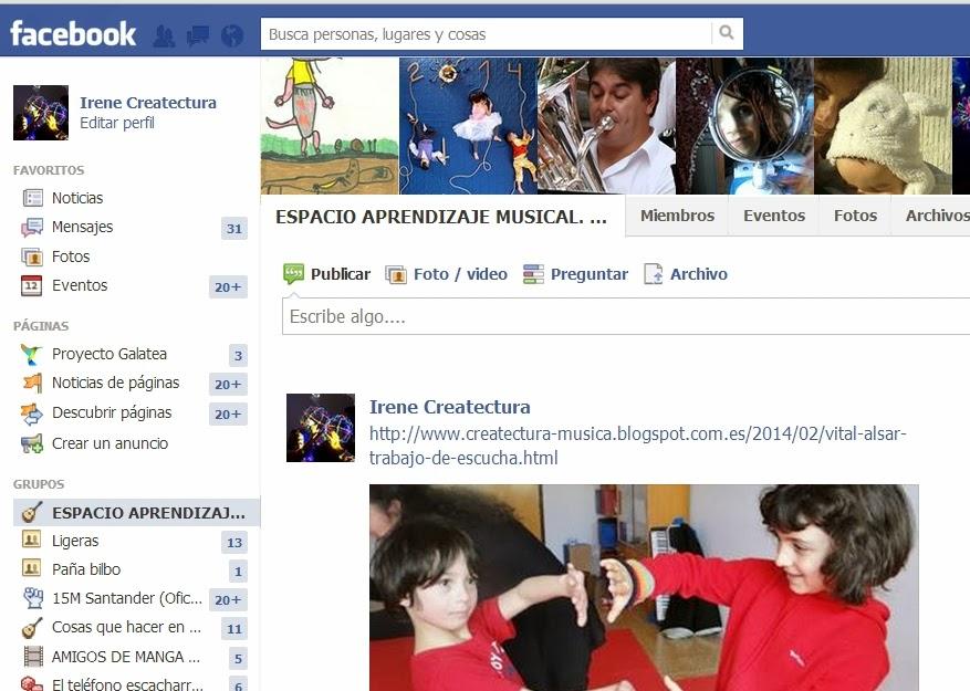 Grupo Facebook de APRENDIZAJE MUSICAL