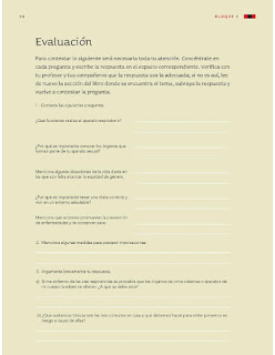 Apoyo Primaria Ciencias Naturales 4to grado Bloque I Evaluación