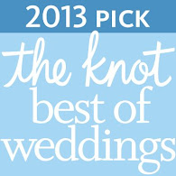 "Awarded ""The Knot Best of Wedding Planners"""