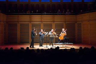 The Brodsky Quartet performing at Kings Place