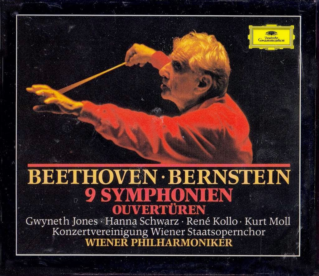 bernstein and beethoven With leonard bernstein, the chorus of radio hilversum, rené kollo, koninklijk concertgebouworkest a mini-series showcasing complete performances of all nine beethoven symphonies, as well as the complete missa solemnis, a string quartet arranged for the full string section of the vienna philharmonic, and several of beethoven's overtures.