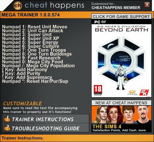 Borderlands The Pre Sequel Trainer Cheat Happens Pc ... Borderlands Pre Sequel Pc Trainer