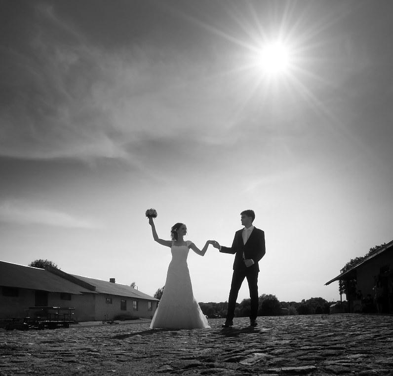 urabanistinė vestuvių fotosesija