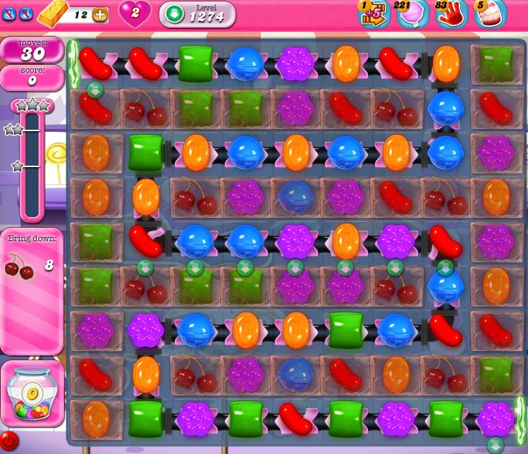 Candy Crush Saga 1274