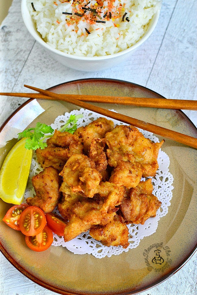 Through The Kitchen Door: Chicken Karaage (Japanese Fried Chicken)