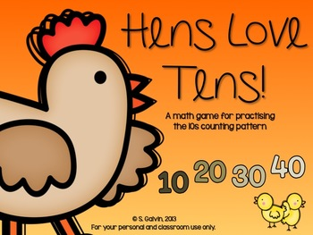 http://www.teacherspayteachers.com/Product/Hens-Love-Tens-A-10s-Skip-Counting-Game-603226