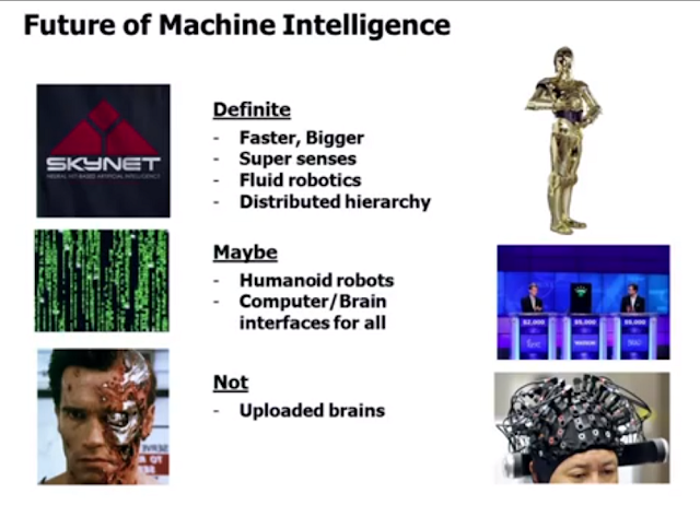 Jeff Hawkins on the future of Machine Intelligence