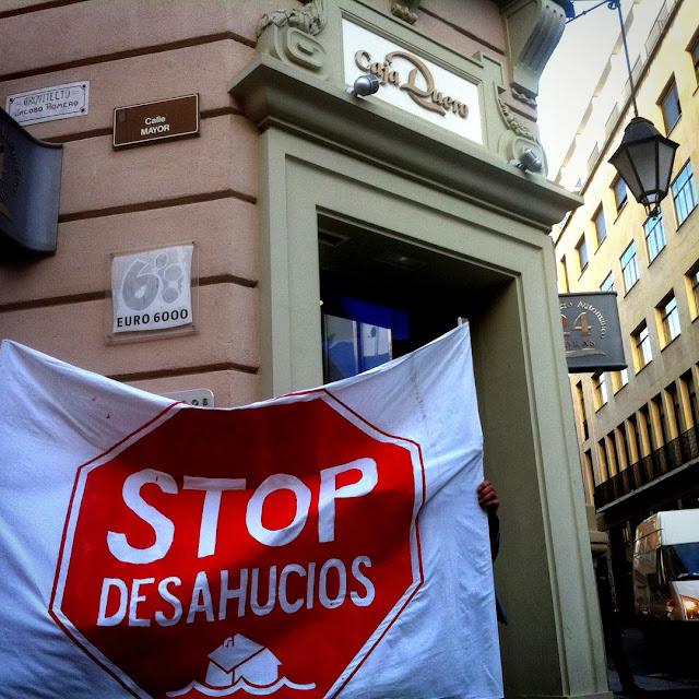 stop desahucios, 2013 Abbé Nozal