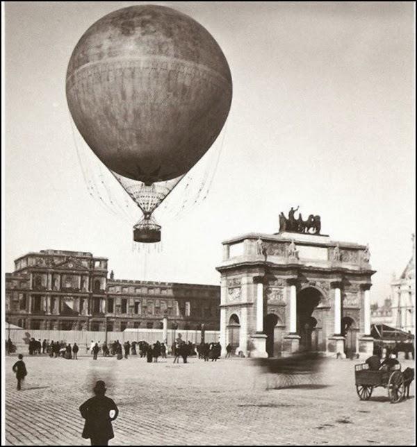 Imagens em Preto e Branco: Paris Antigamente