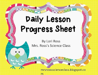 http://www.teacherspayteachers.com/Product/Back-To-School-Daily-Lesson-Progress-Sheet-787763