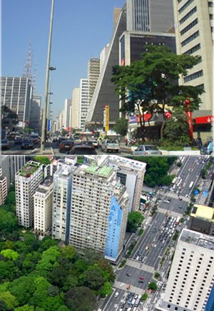 Avenida Paulista hoje