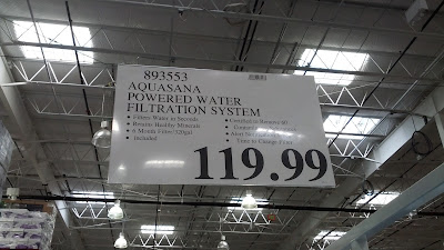Aquasana Powered Water Filtration System deal at Costco