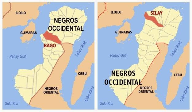Bago ang Silay Maps