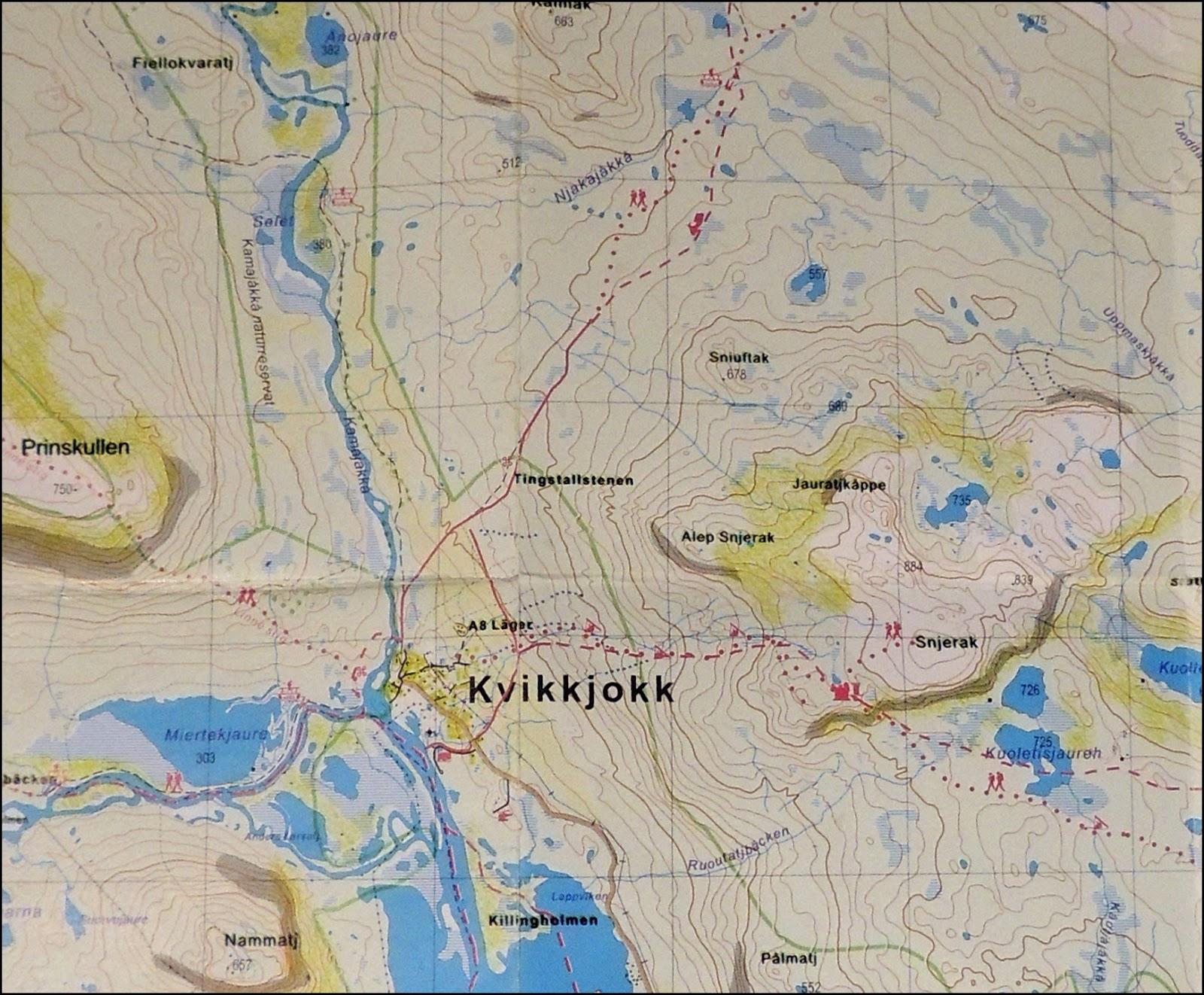 kvikkjokk guys Kungsleden and kebnekaise rowing boats is not necessary between kebnats and kvikkjokk i dashed uphill where 3 swedish guys asked if i was missing something.