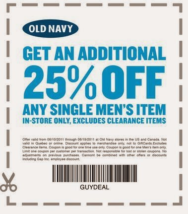 Old navy in store coupons august 2019