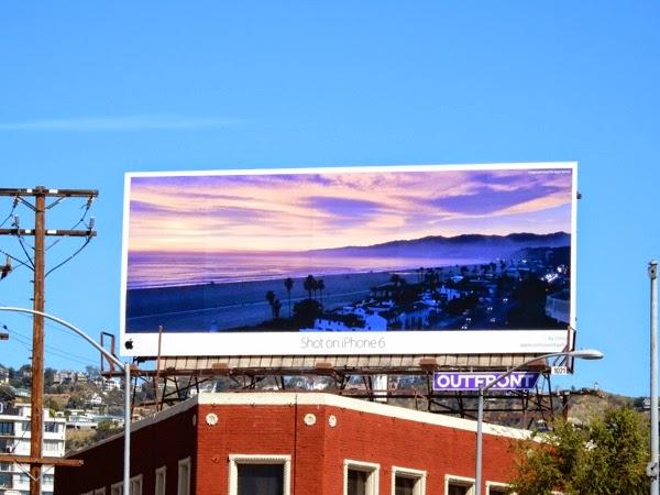 Shot on iPhone 6 Chris C billboard