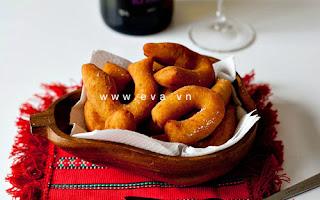 Ăn vặt với quẩy khoai tây