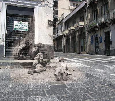Saat Foto Kenangan Perang Dunia II Disatukan Dengan Jaman Modern