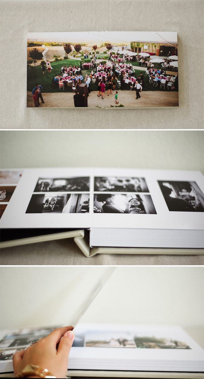 Annie Hall Photography wedding album