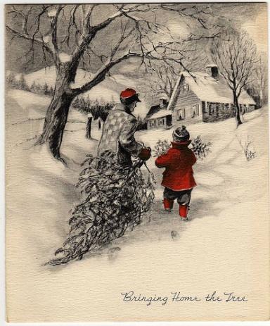 vintage-christmas-card-bringing-home-the-tree.jpg