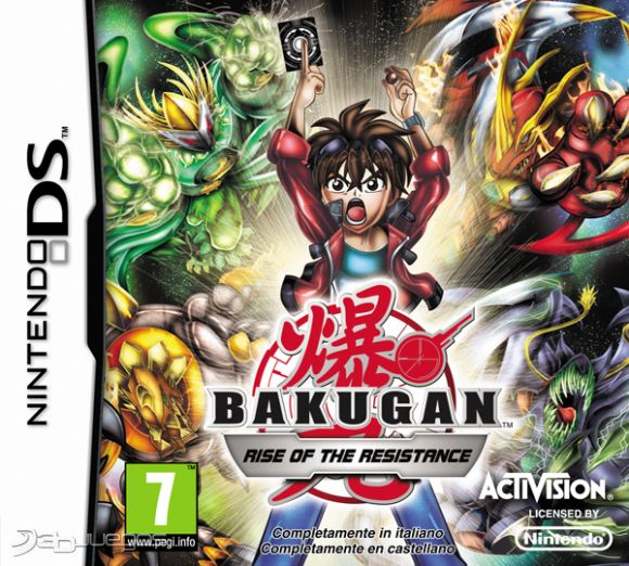 Bakugan Rise of the Resistance [NDS] [MG]