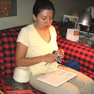 First Fair Isle Knitting