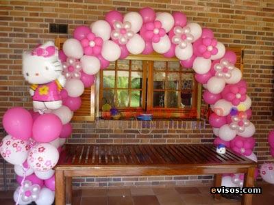 Decoracion De Baby Shower Con Globos